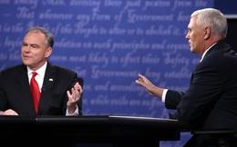 """Bầu cử Mỹ: Hai ứng viên Phó tổng thống tranh luận """"nảy lửa"""""""