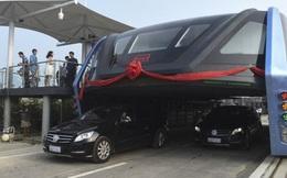 """""""Siêu xe bus"""" bị dân mạng Trung Quốc nghi ngờ"""