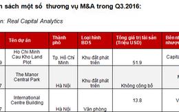 """M&A bất động sản sôi động: Nhà đầu tư ngoại đổ về Việt Nam tìm đất """"sạch"""""""