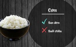 11 loại thực phẩm sẽ gây hại nếu ăn sai giờ