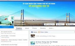 Sở GTVT TP HCM mở Facebook nhận góp ý của dân