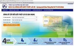 TP.HCM triển khai cấp đổi giấy phép lái xe qua mạng