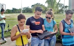 Internet tại Cuba: 150 nghìn/giờ lướt web