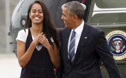 Tại sao con gái Tổng thống Obama chưa vội vào đại học?