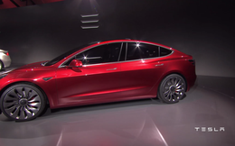 Mẫu Tesla 3 của Elon Musk gây sốt khi tổng giá trị đơn hàng đặt trước đạt 7,5 tỉ USD chỉ sau ngày đầu tiên