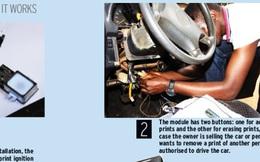 Sinh viên của một trong những nước nghèo nhất thế giới sáng chế ra cách khởi động ô tô bằng dấu vân tay
