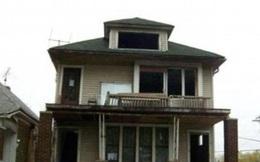 Sốc với những biệt thự được bán giá 1 đô la ở nước Mỹ hoa lệ