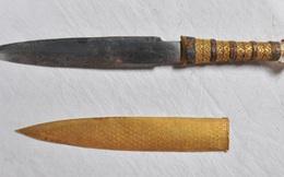 Phát hiện bất ngờ về con dao găm của Pharaon Tutankhamun