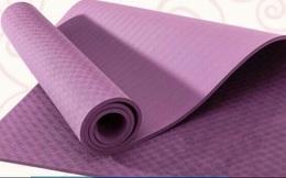 Thảm tập yoga xuất xứ Trung Quốc chứa chất cấm nguy hại