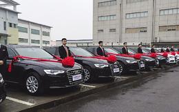 Ông chủ hào phóng mua tới 13 chiếc Audi A6 làm phần thưởng Tết cho nhân viên