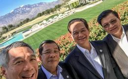 Ông Lý Hiển Long chụp selfie cùng Thủ tướng Nguyễn Tấn Dũng