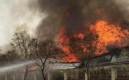 Cháy lớn khu công nghiệp Quế Võ - Bắc Ninh, 6 giờ dập lửa bất thành