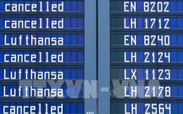 Lufthansa lao đao do tình trạng hủy chuyến bay
