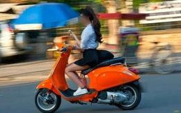 90% nữ giới tự làm khó mình khi tham gia giao thông