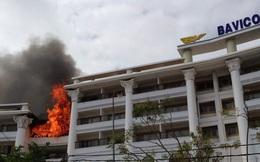 Cháy ngùn ngụt ở khách sạn 5 sao lớn nhất Đà Lạt