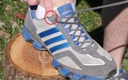 Chúng ta thường bỏ phí lỗ thắt dây giày cuối cùng vì không biết mẹo này