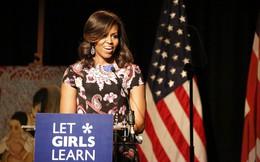 Bà Obama đã đáp lại thế nào trước lời kêu gọi trở thành tổng thống Mỹ?