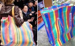 Hài hước túi xách nghìn đô của Balenciaga giống hệt túi nilon Thái Lan