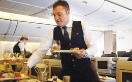 Hấp dẫn ẩm thực trên các chuyến bay