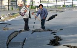 Nhật Bản hoang tàn sau động đất liên tiếp