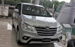 Toyota Việt Nam triệu hồi thay thế hai cửa sau cho xe Innova