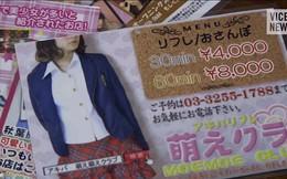 """Mặt trái ở nước Nhật giàu có, nhiều nữ sinh phải """"bán mình"""" để có tiền chi tiêu hàng ngày"""