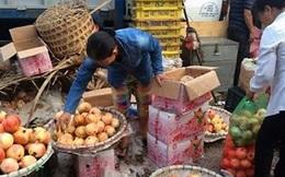 Tiết lộ rợn người của chủ buôn hoa quả Trung Quốc 15 năm