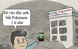 Dân mạng chế ảnh săn Pokemon không thể nhịn cười