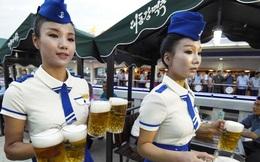 [Photo] Có gì đặc biệt trong lễ hội bia đầu tiên của Triều Tiên