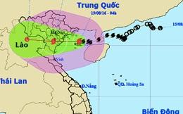 Bão áp sát Quảng Ninh-Thanh Hóa, mưa lớn toàn miền Bắc