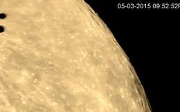 UFO lượn qua Mặt trăng, chuẩn bị tấn công quân sự?