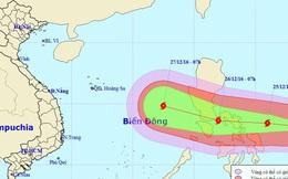 Bão Nock-ten sức gió 180 km/h hướng vào Biển Đông
