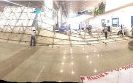 Nguyên nhân khiến giàn giáo tại sân bay Tân Sơn Nhất đổ sập