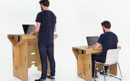 Đừng ngồi ghế và làm việc nữa, hãy đứng lên đi, bạn sẽ thấy hiệu quả bất ngờ