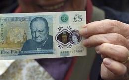 Người dân Anh lần đầu tiên được sử dụng tiền polymer