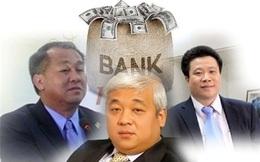 """Những đại gia ngân hàng """"ngã ngựa"""""""