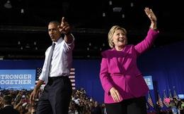 Ông Obama: 'Hillary Clinton sẽ là Tổng thống tuyệt vời'