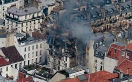 Nổ lớn tại chung cư Paris, 17 người bị thương