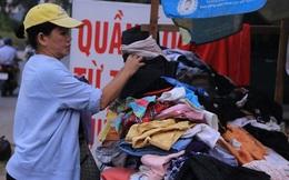 """""""Quầy quần áo từ thiện"""" tại Sài Gòn: """"Chuyện này nhỏ như hạt cát, có gì đâu mà"""""""