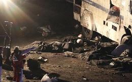 Chùm ảnh: Hiện trường đen tối vụ đánh bom kép ngoài sân bóng đá Thổ Nhĩ Kỳ khiến hàng trăm người thương vong