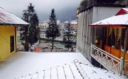 Bộ ảnh tuyết phủ trắng vùng cao trên Facebook ngày 24/1/2016