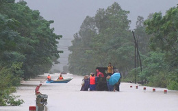 Quảng Bình: Lũ lịch sử làm 5 người chết, 2 người mất tích, 9 người bị thương