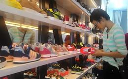 Giày hiệu giá bèo phần lớn là hàng Trung Quốc