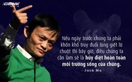 Jack Ma vừa tuyên bố một câu cực kỳ đanh thép về cách ông đối phó với hàng giả