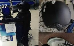 Kẻ cướp ngân hàng BIDV ở Huế đi cùng 1 cô gái bí ẩn