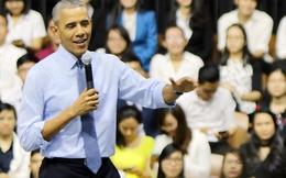 """Những câu hỏi hóc búa của giới trẻ Việt khiến ông Obama """"đứng hình"""""""