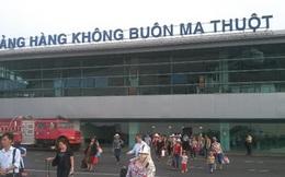 Cảng hàng không Buôn Ma Thuột tê liệt vì hỏng đường băng