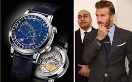 """Beckham đeo đồng hồ gần 7 tỷ trong sự kiện bán đấu giá """"ảnh nóng"""""""