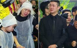 Cập nhật: Hàng trăm người hâm mộ tràn xuống đường, tiễn đưa xe tang nhạc sĩ Trần Lập