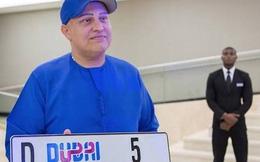 """Đại gia Dubai chi hẳn 9 triệu USD để mua 1 biển số xe """"cực-kỳ-bình-thường"""""""